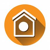 Round Vector Home icon