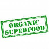 Organic Superfood stamp