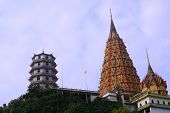 Travel At Wat Tham Sua Or Tiger Cave Temple In Thailand