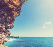 Tropical beach in Bali