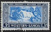 Western Samoa Postage Stamp