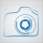 Camera Outline Logo