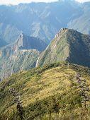 Machu Picchu From Behind