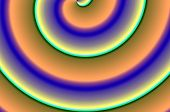 Brightly colored circles