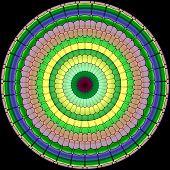 Mandala Ornament Generated Texture