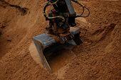 Digging excavator bucket