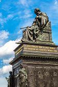 Sculpture Of Friedrich August In Dresden