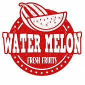 Water Melon Stamp