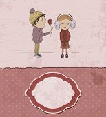 Vintage Valentine's Day Card