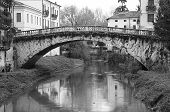 San Michele Bridge With The Retrone River