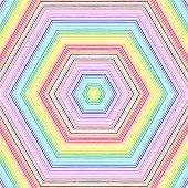 Bright Color Lines Pattern