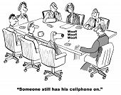 foto of interrupter  - Cartoon of businessman dog - JPG