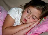 Young Girl Sound Asleep