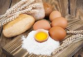 Постер, плакат: Baking Ingredients