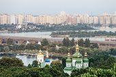 picture of kiev  - Panorama of the city Kiev - JPG