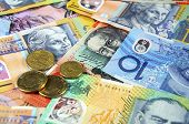 foto of year end sale  - Australian Money concept for savings spending or 30th June End of Financial Year sale. ** Note: Shallow depth of field - JPG