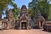 Постер, плакат: Angkor Temple Complex entrance Siem Reap Cambodia