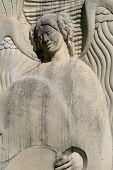 Angel en piedra