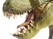 image of pacific rim  - Isolated dinosaur and monster model in white background - JPG