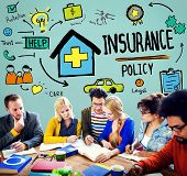 picture of insurance-policy  - Insurance Policy Help Legal Care Trust Protection Protection Concept - JPG