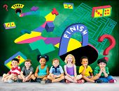 foto of maze  - Kids Maze Puzzle Game Fun Solution Concept - JPG