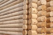 Detail Of Log Cabin