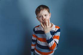 stock photo of finger-licking  - European - JPG