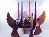 Angel Advent Candle