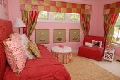 A beautiful bedroom interior for a child