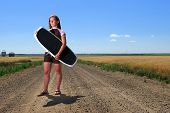 Prairie Girl Wake Boarder