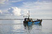 Trawling Fishing Boat