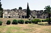 Ruins Of Pompey After Eruption Of A Volcano Of Vesuvius