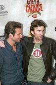 CULVER CITY, CA - JUNE 5: Bradley Cooper & Sharlto Copley arrives at the 4th annual Spike TV's