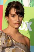 LOS ANGELES - JUL 27:  Lea Michele arrives at Fox's