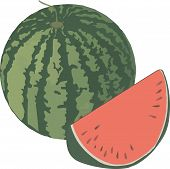 Cut Red Watermelon Cut Red Watermelon Cut Red Watermelon poster
