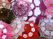 Colorful Chinese Parasols