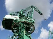 Crane In The Port Of Le Havre (france)