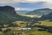 Wolf Creek Pass. Colorado Rocky Mountain Scenic Beauty poster
