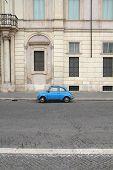 Fiat 500 In Rome