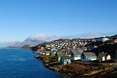 Nuuk at summer time