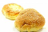 bread with sesame and cheese bread