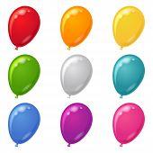 Conjunto de globos,