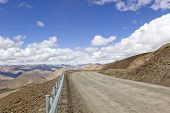 tibet: mountain road