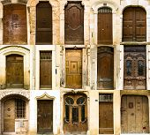 Collection Of Old French Entrance Doors