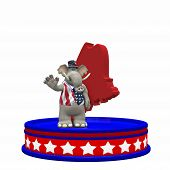 stock photo of caucus  - Republican Platform - Maine