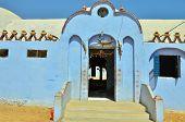 Building in Nubian village, Egypt