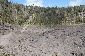 View Of Kilauea Iki Crater Floor