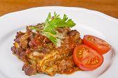 Fleisch-Lasagne