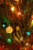 Retro Large colored holiday lights