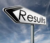 foto of poll  - result reach goal get results and succeed business success be a winner in business elections pop poll or sports market results or market report business result business report election results - JPG